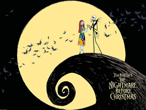 The Nightmare Before Christmas Quad
